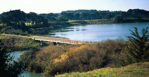 Lake Merced Bridge