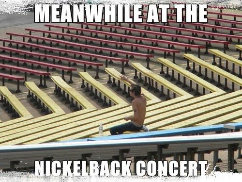 Nickelback Free Concert