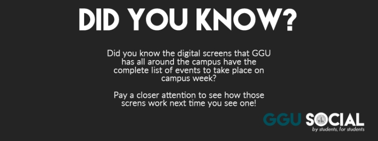 GGU Social Did You Know 3-16