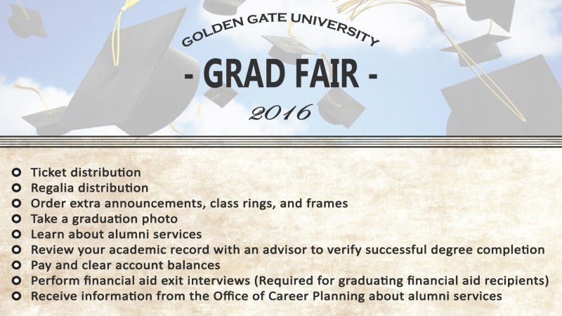 Grad Fair Services List