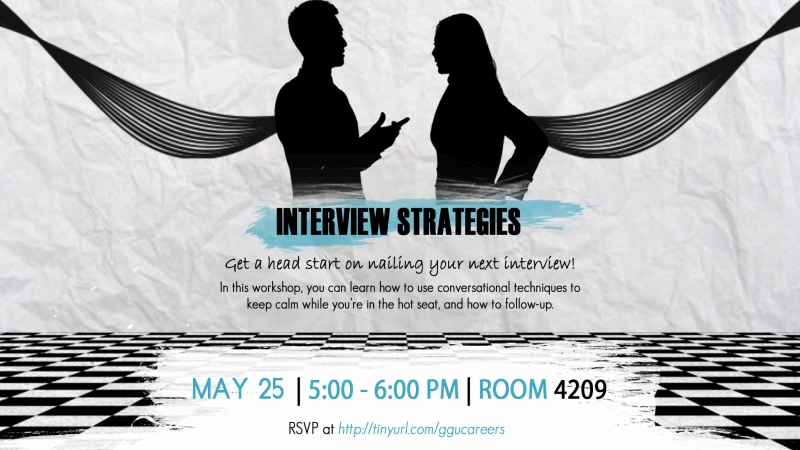 Interview Strategies Summer