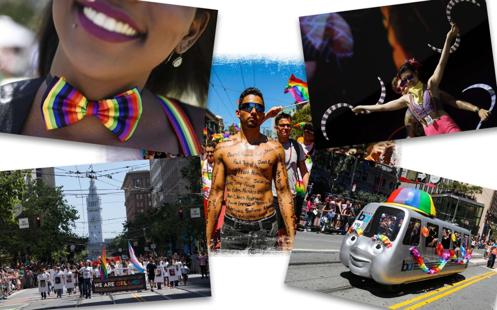 SF Pride Collage