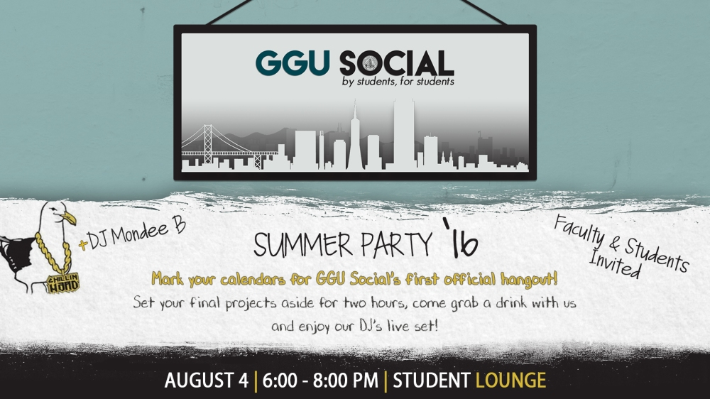 GGU Social Summer Party DS