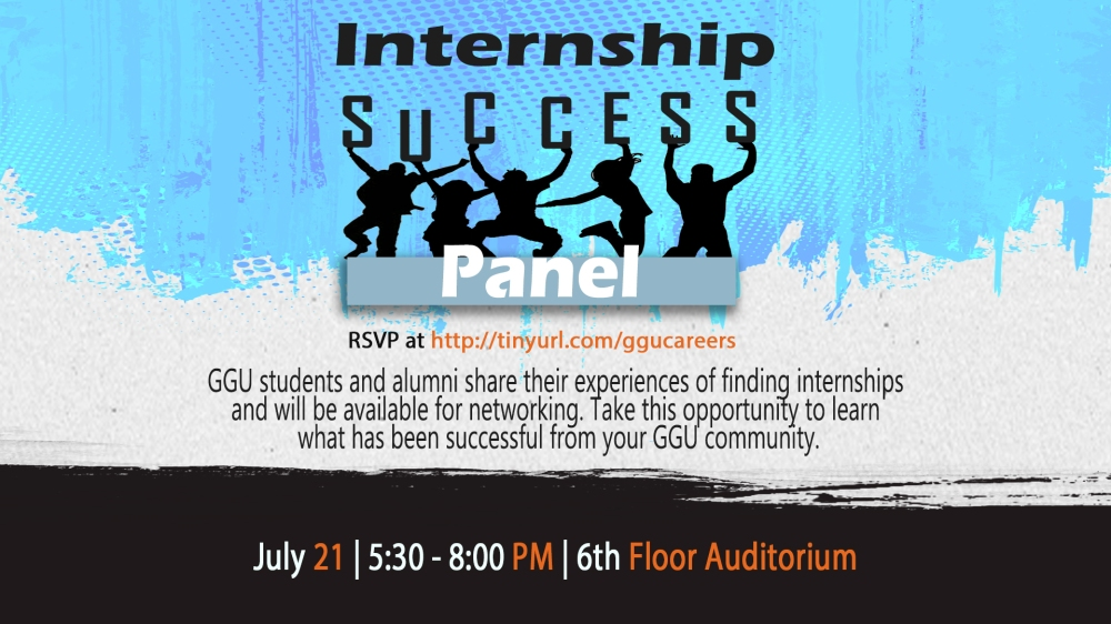 Internship Success Panel DS