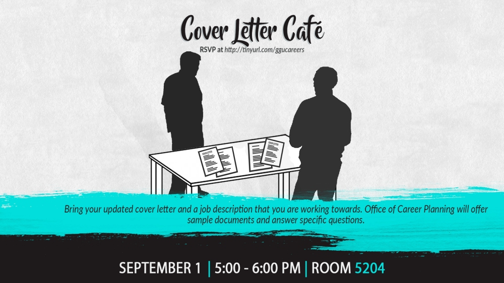 Cover Letter Cafe DS