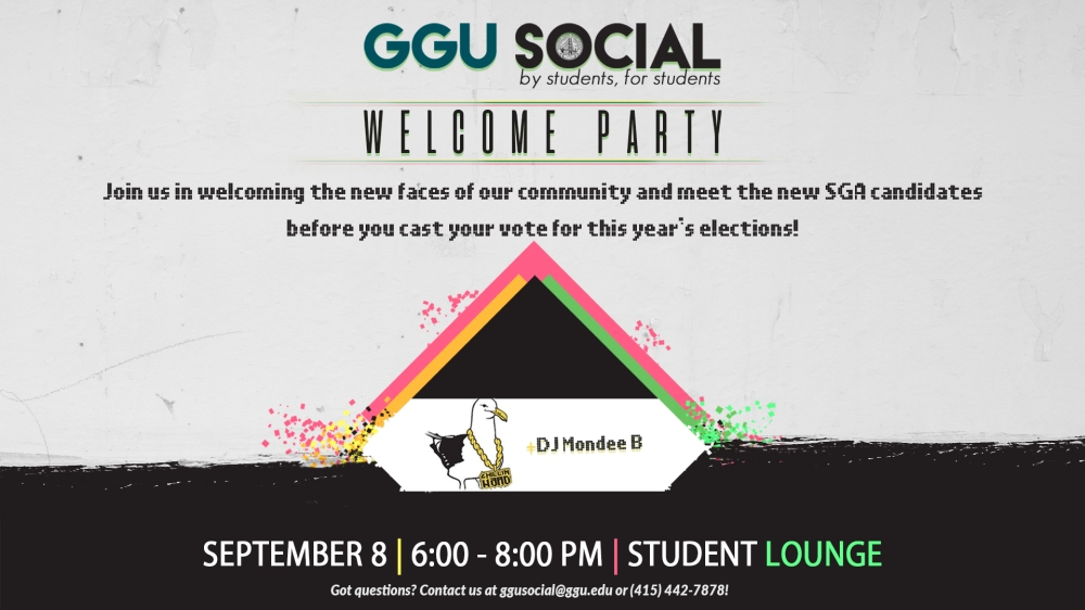 GGU Social Welcome Party DS