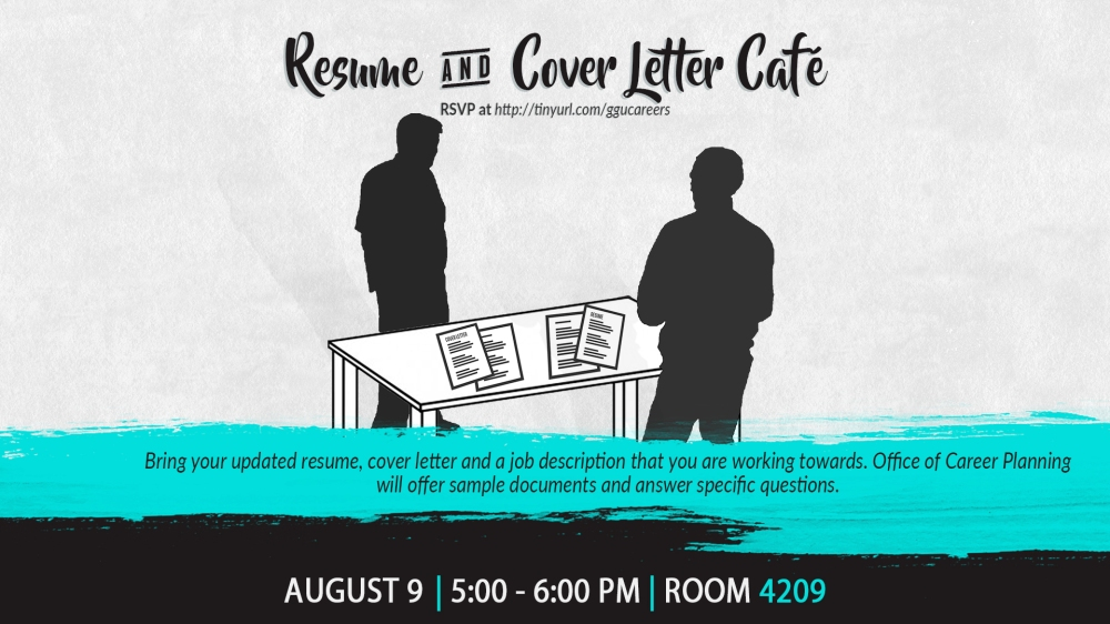 Resume and Cover Letter Cafe DS