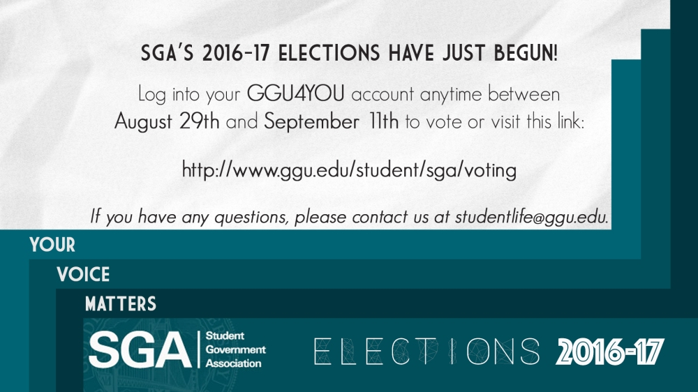 SGA Elections 2016-17 Vote DS