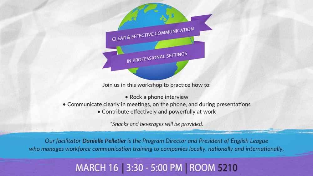 Clear & Effective Communication In Professional Settings DS
