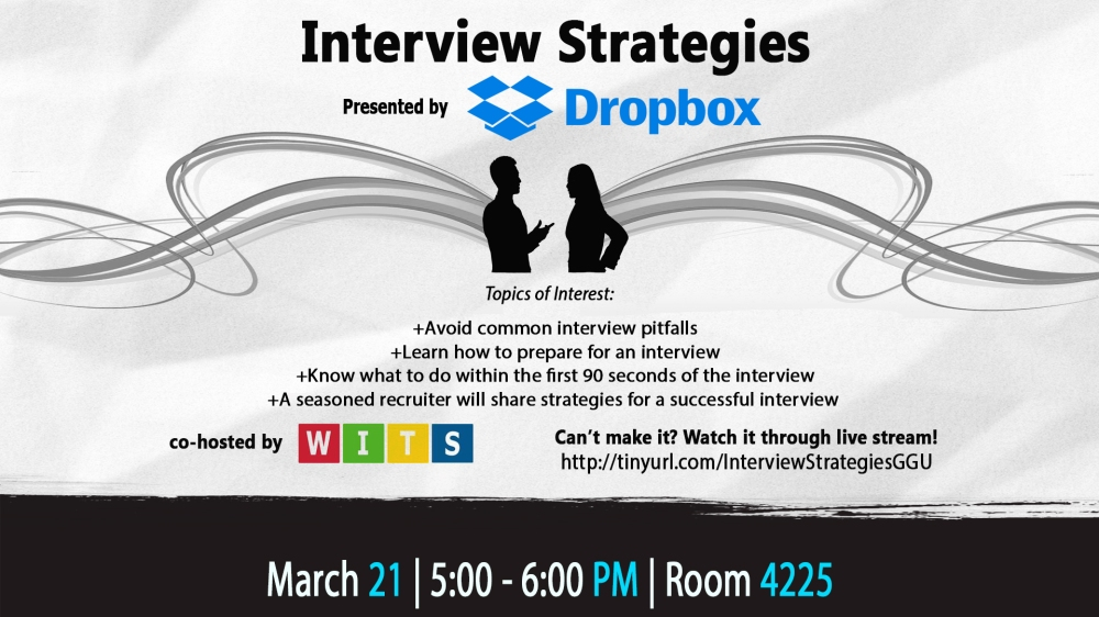 Interview Strategies presented by Dropbox DS