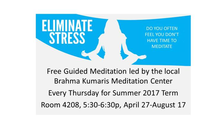 Digital Signage for Meditation (summer 2017)