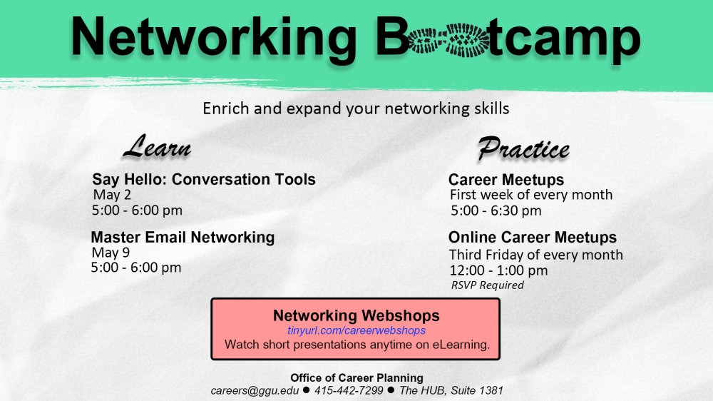 Networking Bootcamp (Summer 2017)