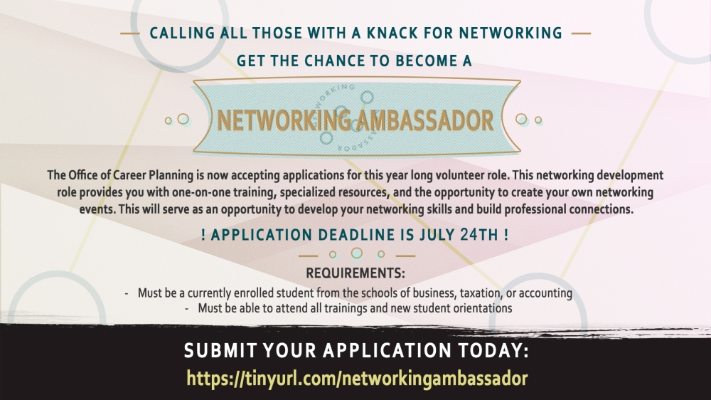 Networking Ambassador Application