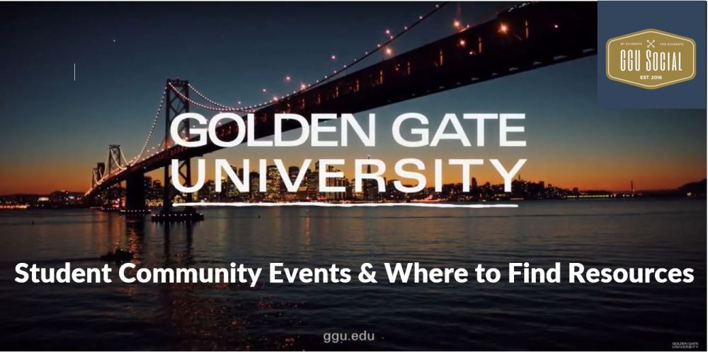 Student Community Events & Where to Find Resources